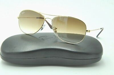 87fce89005e3b Ray Ban RB 3362 COCKPIT Sunglasses 001 51 Gold   Brown Gradient Lenses 56mm
