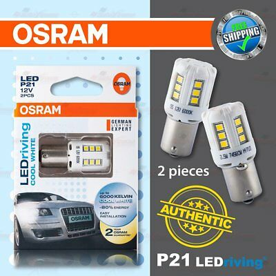 2x Mazda Xedos 9 P21//5W Genuine Osram Original Reverse Light Bulbs Pair