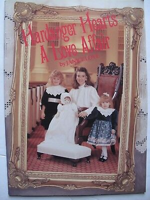 HARDANGER HEARTS A Love Affair - Pattern book by JANICE LOVE