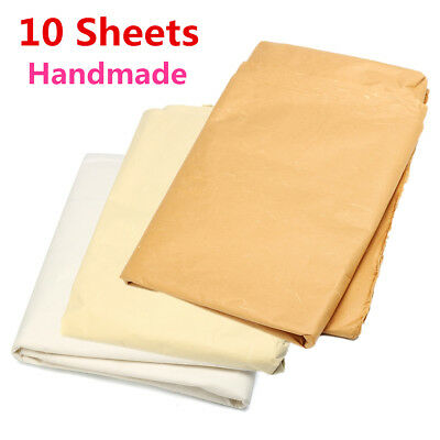 10Pcs 140cmx70cm Chinese Rice Paper Xuan Paper For Calligraphy Painting Handmade