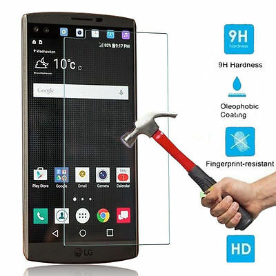 9H Premium Real Tempered Glass Film Screen Protector For LG Cell Phones