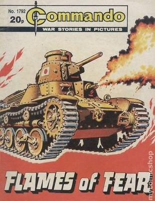 Commando War Stories in Pictures (D. C. Thomson Digest) #1792 1984 VG+ 4.5