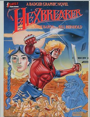 Hexbreaker    Mike Baron and Bill Reinhold    First Print 1988