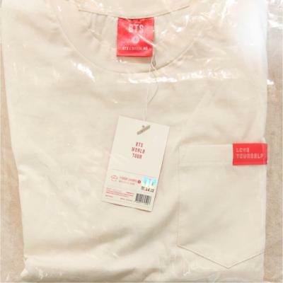 BTS Love Yourself World LY Tour Official Ivory T-shirt M size official goods MD