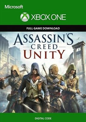 assassin creed unity xbox one Key Global Digital Game No Cd No Dvd
