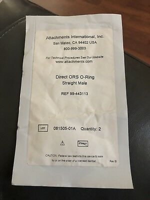 Attachments International Direct ORS O-Ring Straight Male. REF: 99-443113.