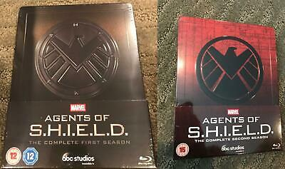 Marvel Agents of S.H.I.E.L.D Shield The Complete 1st and 2nd Season SteelBooks