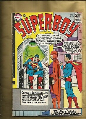 Superboy #120 fn- 1965 classic cover Silver Age  Superbaby Mr Mxyzptlk DC comics