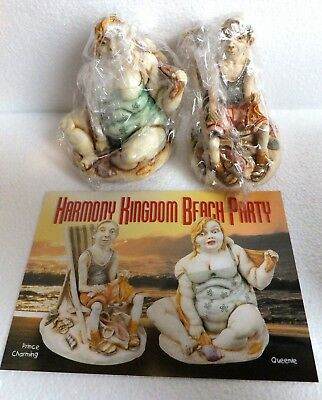 Harmony Kingdom ~ QUEENIE AND PRINCE CHARMING ~ SIGNED LE 1621/2500