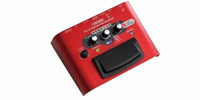 Boss VE2 Harmonist Guitar Effect Pedal - Red