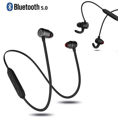 Magnet Wireless Bluetooth 5.0 Sport Earphone Headset Headphone For phone