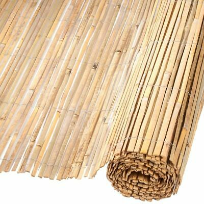 Nature Garden Fence Bamboo Natural 2x5m Outdoor Patio Barrier Divider 6050122