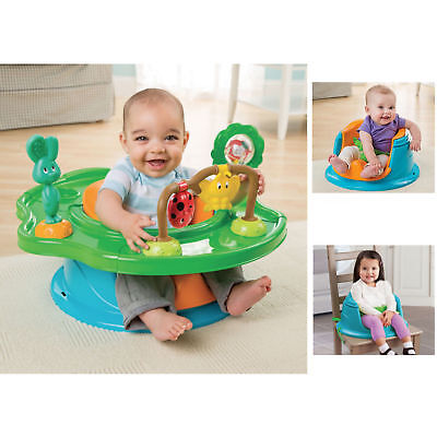 New Summer Infant 3 In 1 Activity/booster Super Seat - Forest Friends
