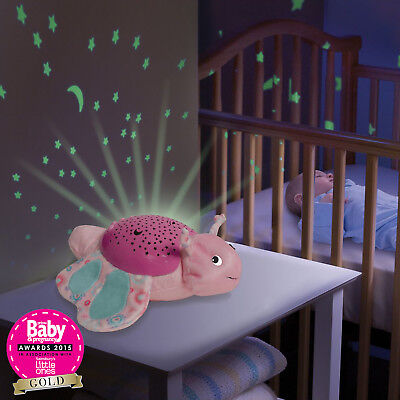 New Summer Infant Becky The Butterfly Slumber Buddies Nightlight Projector