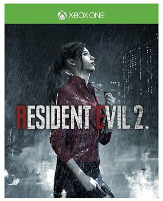 Resident Evil 2 Remake (Xbox One) with Lenticular Sleeve