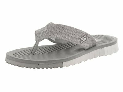 5a74ab0f3fc SKECHERS GO FLEX 3 Solana Perforated Heathered Mesh Point Sandal ...