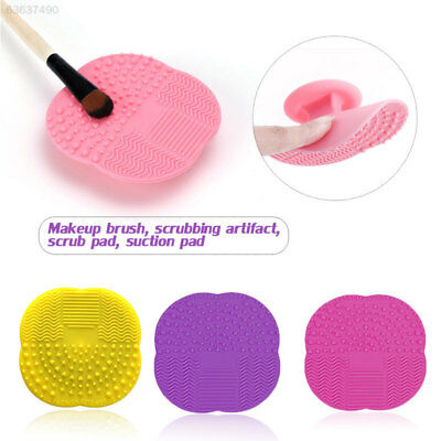 F198 Silicone Makeup Brush Cleaner Scrubber Board Cleaning Cleaner Cleaning Mat