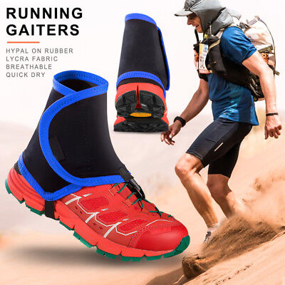 1 Pair Gaiters Protective Wrap Shoe Covers Pair Running Jogging Trail Reflective