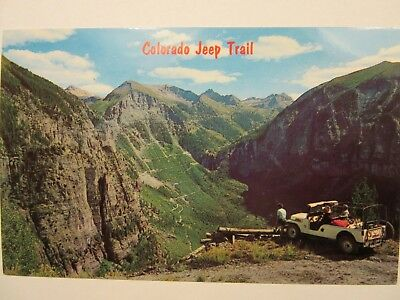 1960 's? JEEP CJ-6, between Telluride and Ouray, CO