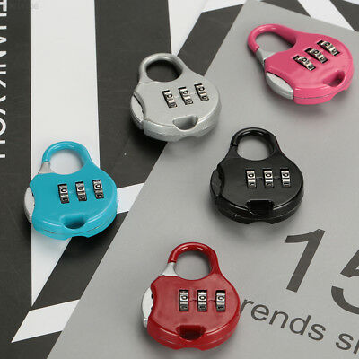 359F 3 Digit Password Lock Code Padlock Luggage Suitcase Premium Portable Metal