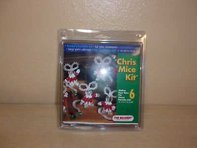 New In Package The Beadery Chris Mice Kit Makes 6 Mice