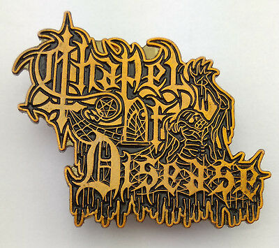 Chapel of Disease – Logo Official Metal Pin Death Metal Asphyx Morbid Angel