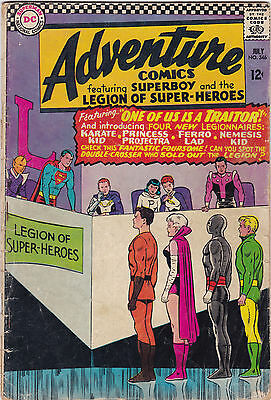 Adventure Comics #346 Good+ To Vg