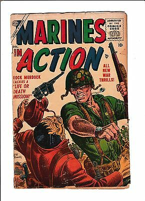 """Marines Action No.4   : 1955 :   : """"Life Or Death Mission!"""" :"""