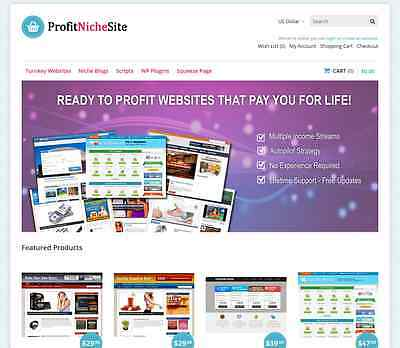 Turnkey Niche Website Selling Business