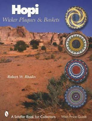Hopi Wicker Plaques & Baskets Guide - Native American Indian Third Mesa Villages