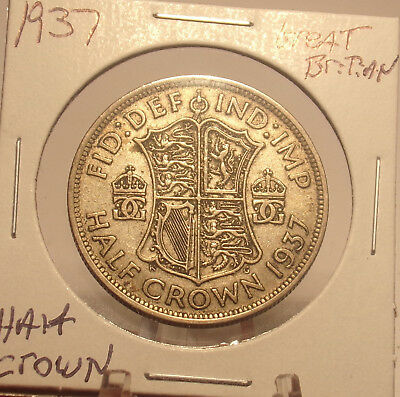 1937 Great Britain Half Crown........ Priced To Sell ....Lot 2158