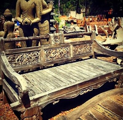 Balinese Teak Bench / Couch / Daybed
