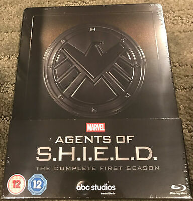 Marvel Agents of S.H.I.E.L.D Shield The Complete 1st First Season SteelBook