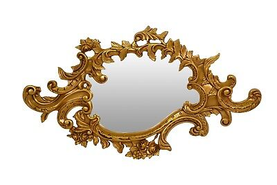 French Style, Shabby Chic, Wood ,Gold Leaf,Hand Carved, Wall Mirror
