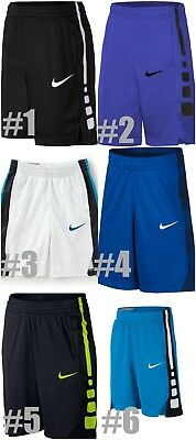New Nike Boys Elite Basketball Shorts Choose Size and Color MSRP $28.00