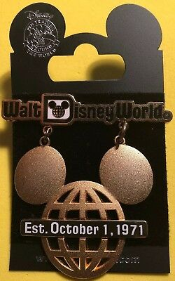 Disney Wdw 2006 Retro Walt Disney World Collection Mickey Mouse Icon Sign Pin