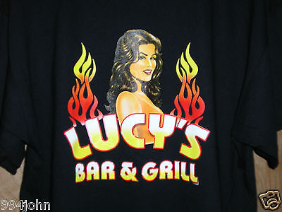 T-SHIRT FROM LUCY'S BAR AND GRILL AT THE LUCKY CLUB CASINO LG/XL SIZES New!!