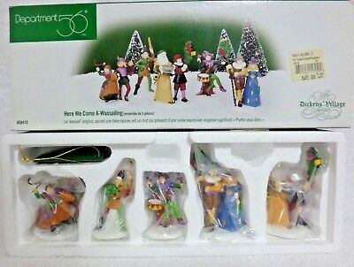 Dept 56 Dickens Village Here We Come A-Wassailing Set of 5 - 58410