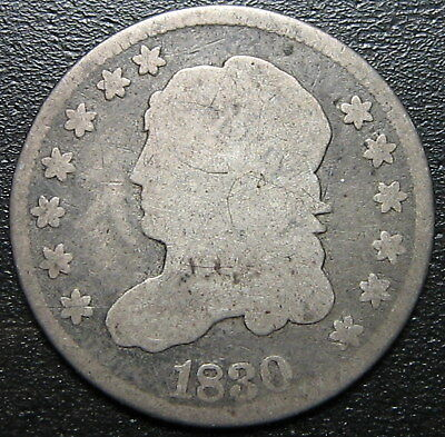 1830 Capped Bust Half Dime  --  MAKE US AN OFFER!  #W6188 ZXCV