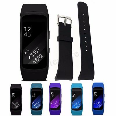 Replacement Silicone Wrist Watch Band Strap Bracelet For Samsung Gear Fit 2