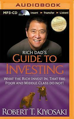 Rich Dad's Guide to Investing by Robert T Kiyosaki (English) CD Book Free Shippi