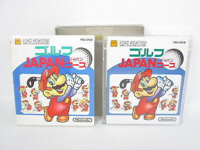MARIO GOLF Japan COURSE Nintendo Famicom Disk System Japan Game dk