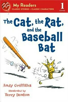 The Cat, the Rat, and the Baseball Bat (Paperback or Softback)