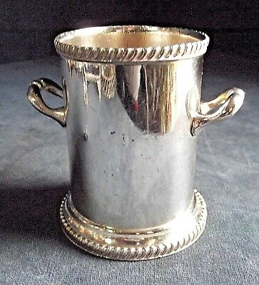 SUPERB ~ SILVER Plated ~ BOTTLE / CUTLERY Holder ~ c1920 by Atkins Brothers