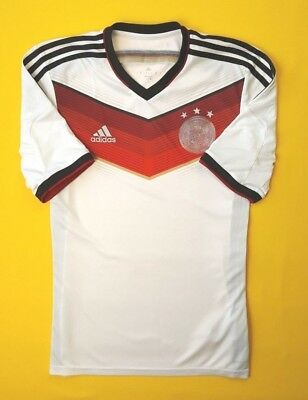 4 5 Germany soccer jersey small 2014 shirt World Cup G87445 football Adidas  ig93 5de562250