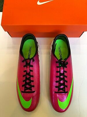 a7f7c7e1f58c Nike Mercurial Victory IV FG - Soccer Cleats - Fireberry Green - Size 12.5  US