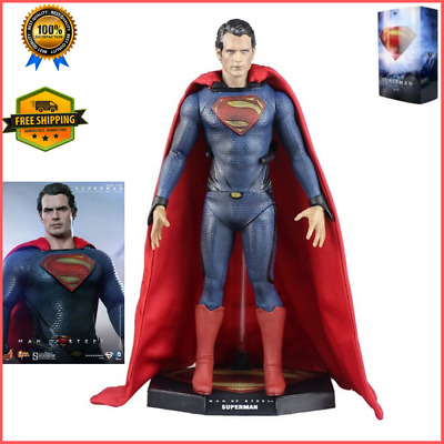 HOT! 1:6 Superman Man of Steel Action Figure Boxed Toy Comics New Justice League