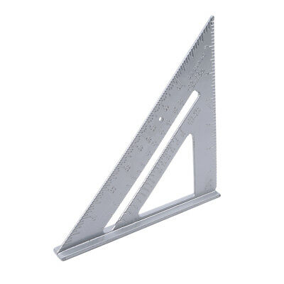 Stainless Steel Triangle Square Ruler Speed  Protractor Miter Measure Tool S