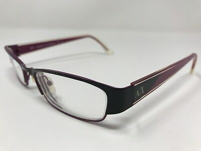 b2860a0c5f2f Armani Exchange Eyeglass Frames AX227-0YPC Black Purple Marble 50-17-135mm