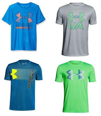New Under Armour Boy's Graphic Print Athletic Shirt SIZE S,M,L MSRP:$25.00